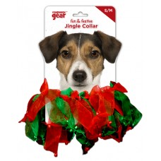 Jingle Collar Red & Green Bells