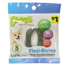 Chewy's™ Flexi-Bones dog dental chews- Small
