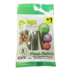 Chewy's™ Flexi-Twists Dog Dental chews- Small