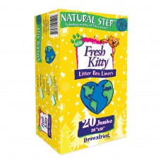Fresh Kitty™ 20ct Natural Step Drawstring Litter Box Liners